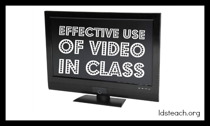 effective-use-of-video-in-class