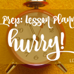 Jiffy Prep: Lesson Planning in a Hurry