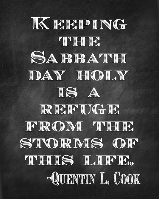sabbath quote