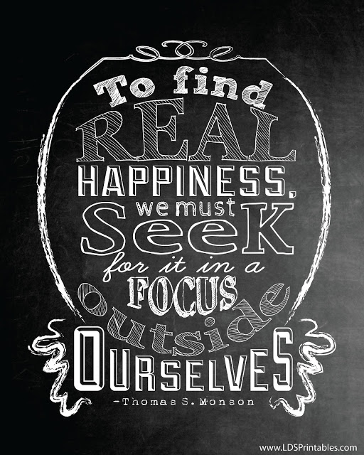 real happiness printable