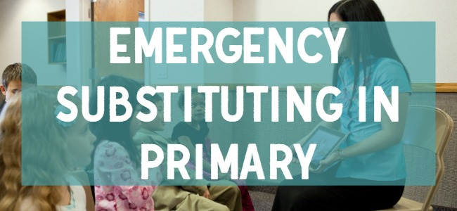 Emergency Substituting in Primary