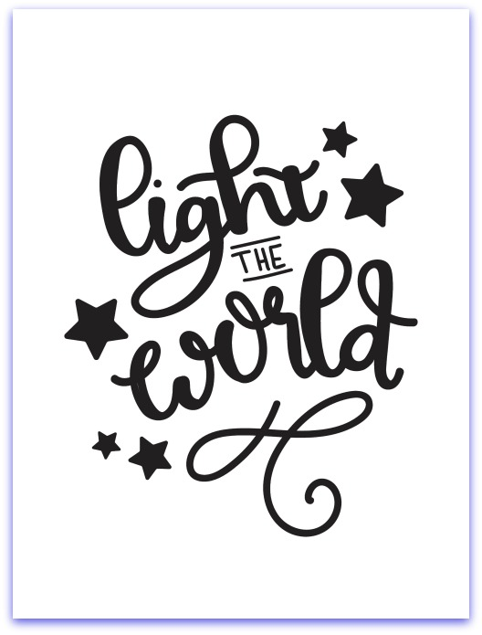 I Heart Naptime Light the World Printable