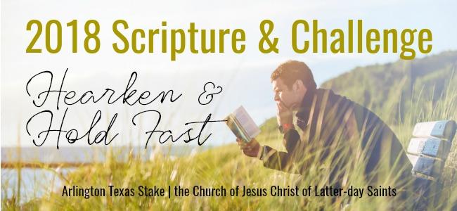 2018 Scripture and Challenge